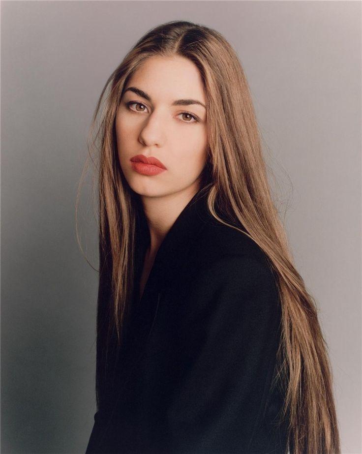 The X Gen — Sofia Coppola photographed by Steven Meisel, 1992.
