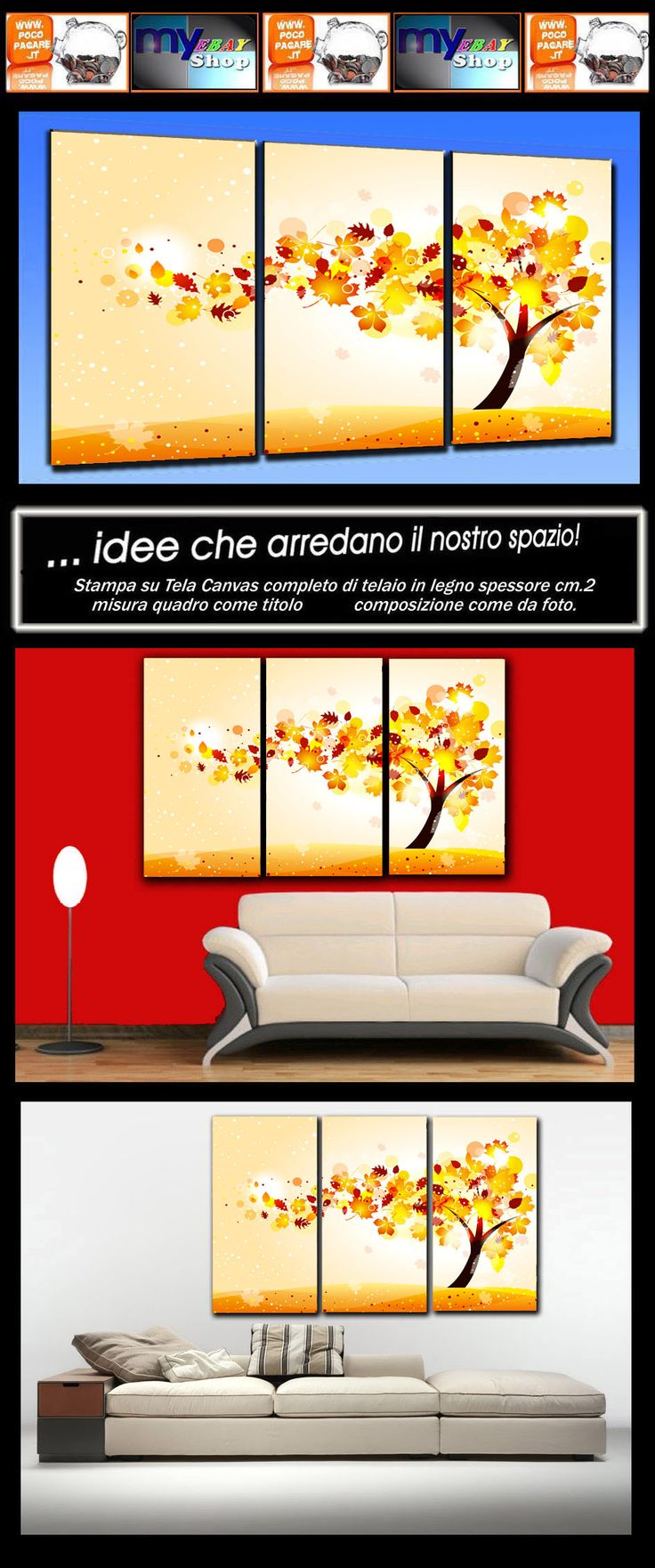 16 best idee per quadro soggiorno images on Pinterest | Canvases ...