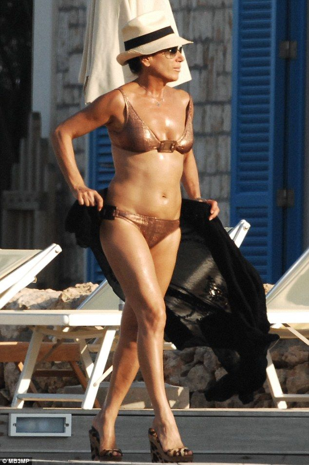 Fifty and fabulous: At 50, Nancy Dell'Olio looks better in her bikini than many women half her age