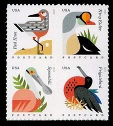 U.S. #4994a Coastal Birds, postcard rate definitives