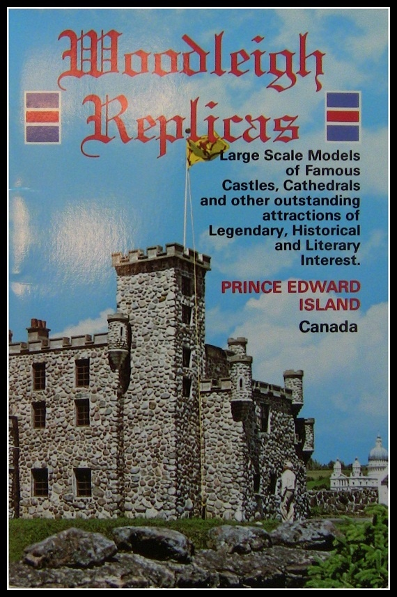 Woodleigh Replicas- Castles and Cathedrals. Prince Edward Island Canada Booklet 1980's