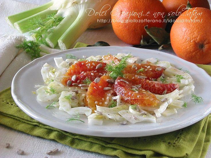 L'Insalata di finocchi e arance è fresca e saporita, un contorno leggero e gustoso, caratterizzato da una perfetta combinazione di note fruttate.