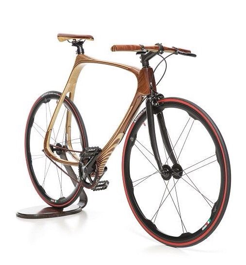 Carbon wood bike by Cwbikes