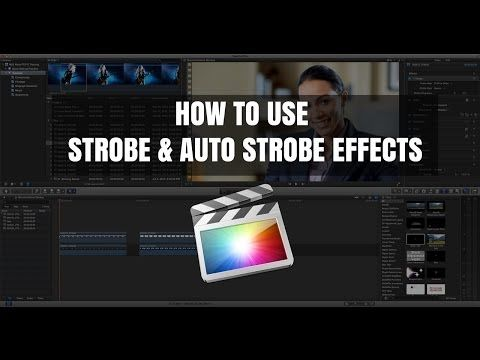 Final Cut Pro X Tutorial: Strobe & AutoStrobe Effects - YouTube