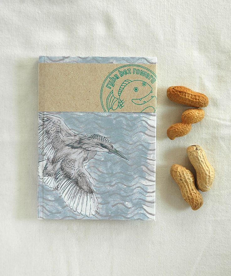 Kingfisher notebook by Fish without a Bicycle