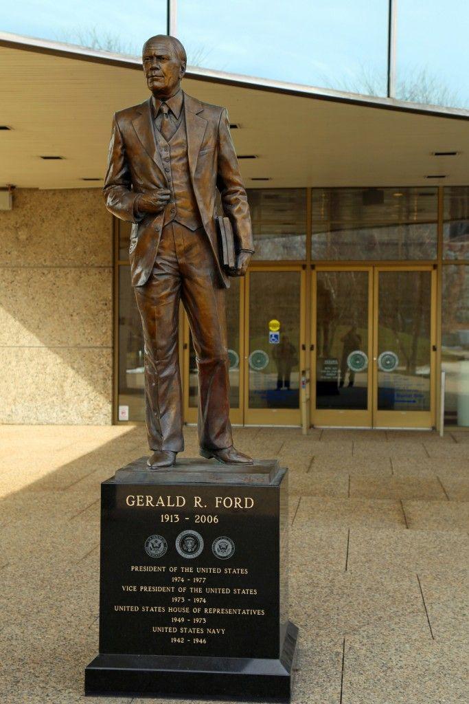 Gerald Ford Presidential Museum in Grand Rapids, Michigan