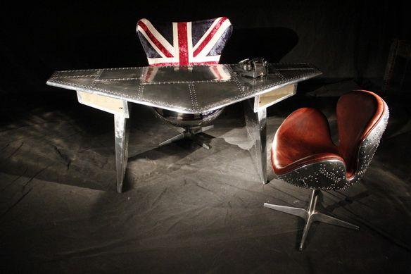 Stealth Dest, Model # 007 & Banshee Chair, model # D011, #spitfirefurniture