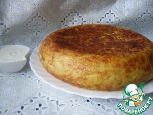 Картофельная запеканка с сосисками и сыром (в мультиварке)