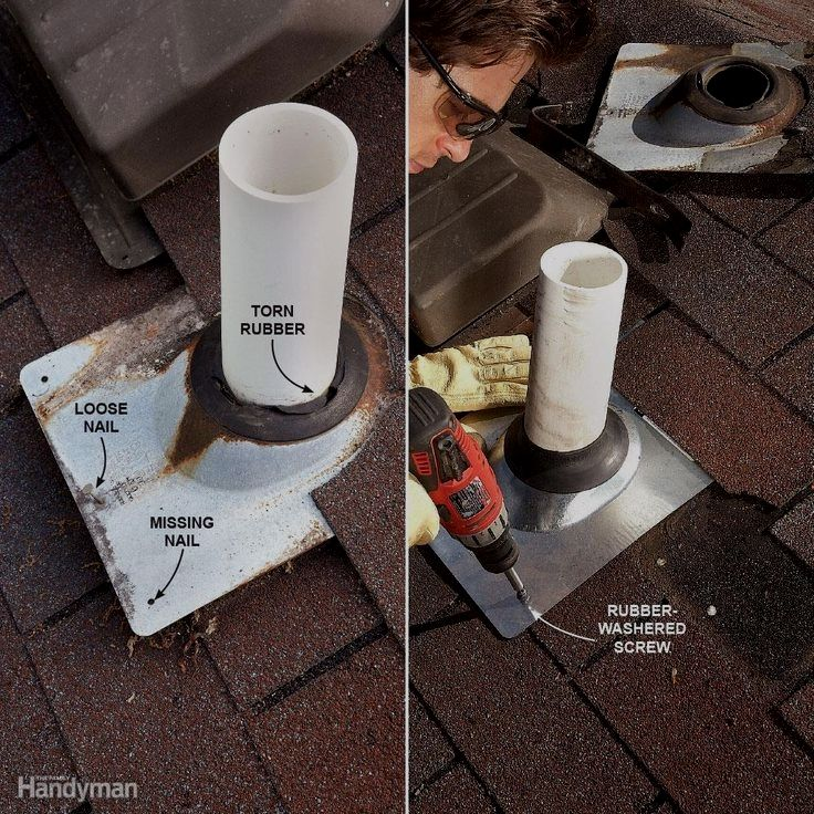 You Can Stop Leaks Yourself No Experience Necessary We Show You How To Track Down And Do Roofing Leaking Roof Plumbing Vent Roof Repair