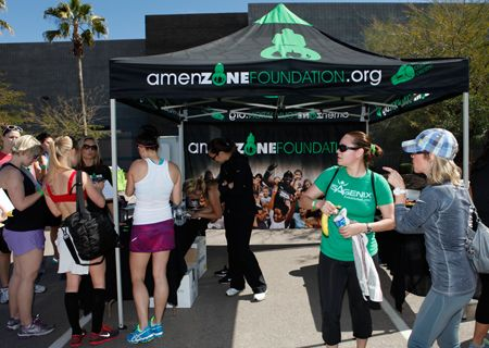 Amenzone Foundation attends Training for Life Tour Stop at Tempe Marketplace 2013