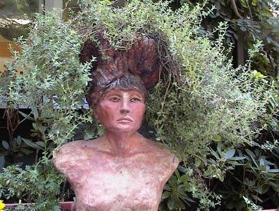 Healing Woman: HERBS. Head PlantersGarden ...