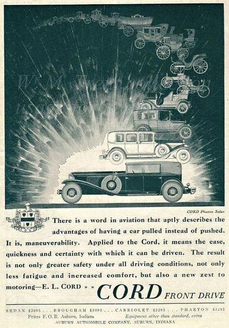 Cord Automobile ~ 1930 | Flickr - Photo Sharing!