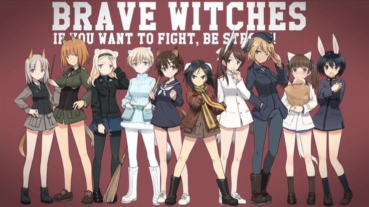 Strike Witches - Cast des Spinoff Anime Brave Witches vorgestellt - http://sumikai.com/mangaanime/strike-witches-cast-des-spinoff-anime-brave-witches-vorgestellt-133078/