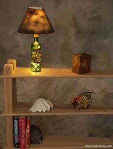 Make a bottle lamp for Dad: Dad, Bottle Crafts, Craft Bottles, Crafted Lamp, Handcrafted Bottle, Gift Ideas, Bottle Lamps, Gifting Ideas, Craft Ideas