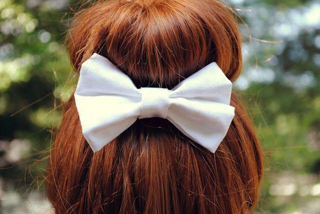 DIY hair bow tutorial!