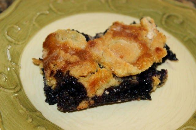 Front Range Fork And Cork: Blueberry Dump Cake-Cobbler-Crisp...and Chopped