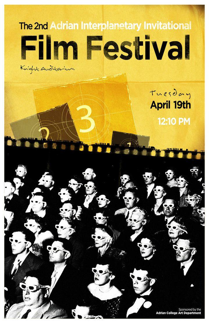 Film Festival Poster 2011 by *ccwildcard4 on deviantART