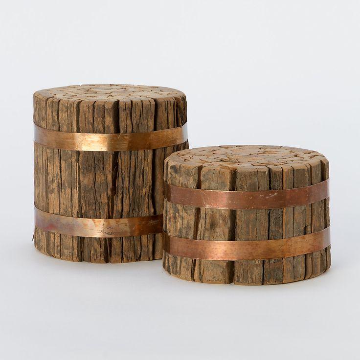 Outdoor rustic copper furniture