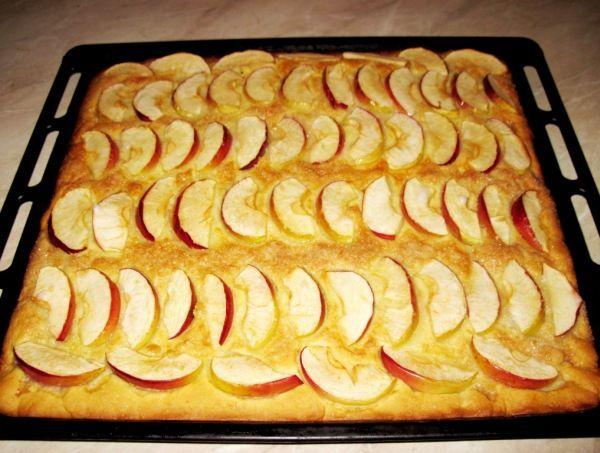 Simple apple tart