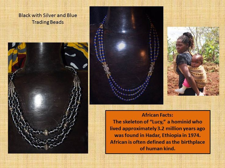 Necklaces from us add to your beauty and the informal, urban economy in Kenya.