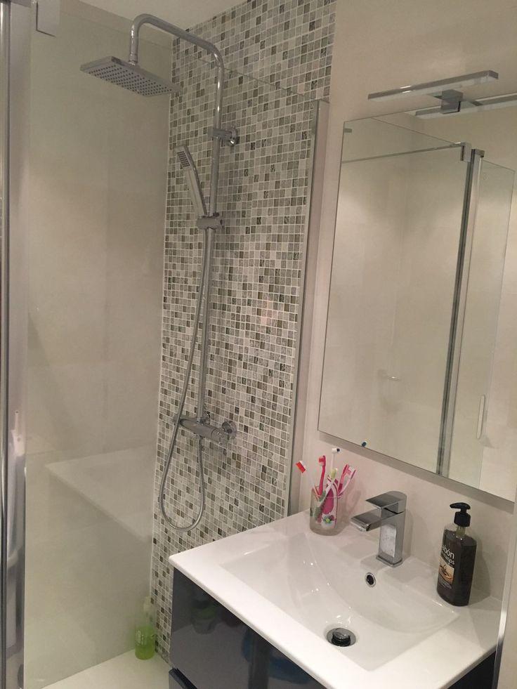 M s de 25 ideas incre bles sobre azulejos grises en - Azulejos para duchas ...