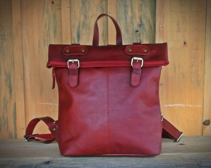 LA Backpack Red