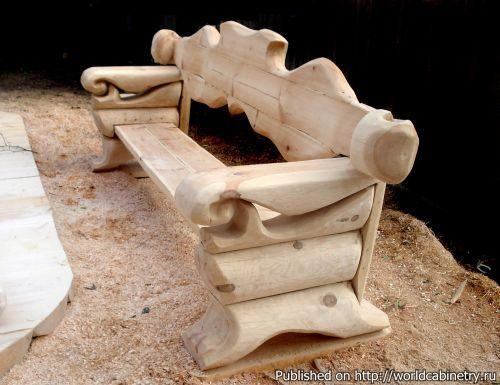 Деревянная скульптура Сергея Варагзина | Краснодеревщик