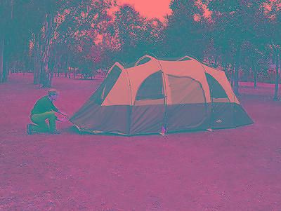 8 Person Tent Outdoor Camping Traveling Hike Quick Camp Insta Frame Family Cabin