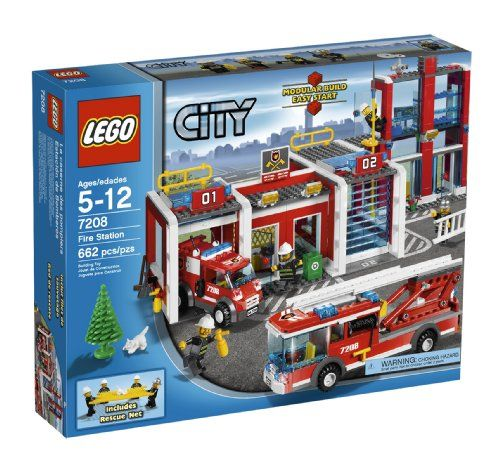 LEGO City Fire Station 7208 ** You can find more details by visiting the image link.