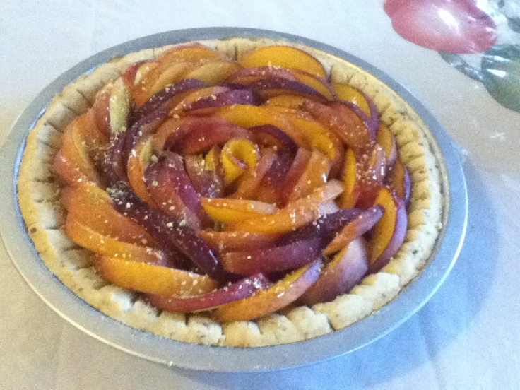 Melody's Peach Tart. I adapted this from a recipe I saw over at ...