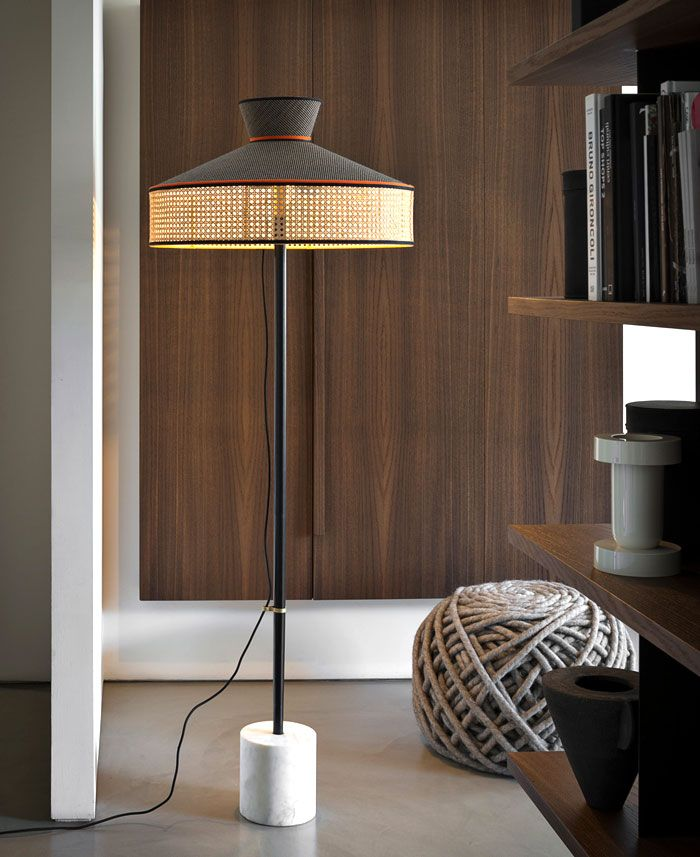 New Catalog By Gtv Bent Wood And Woven Cane Lamps Living Room Modern Floor Lamps Contemporary Floor Lamps