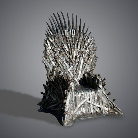 A REAL Game of Thrones Iron Throne. Your's for only the small price of $31,244.  I love the comments at the bottom of the page, too.