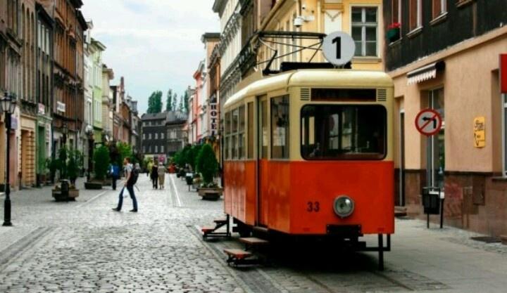 Poland, Bydgoszcz, Długa Street