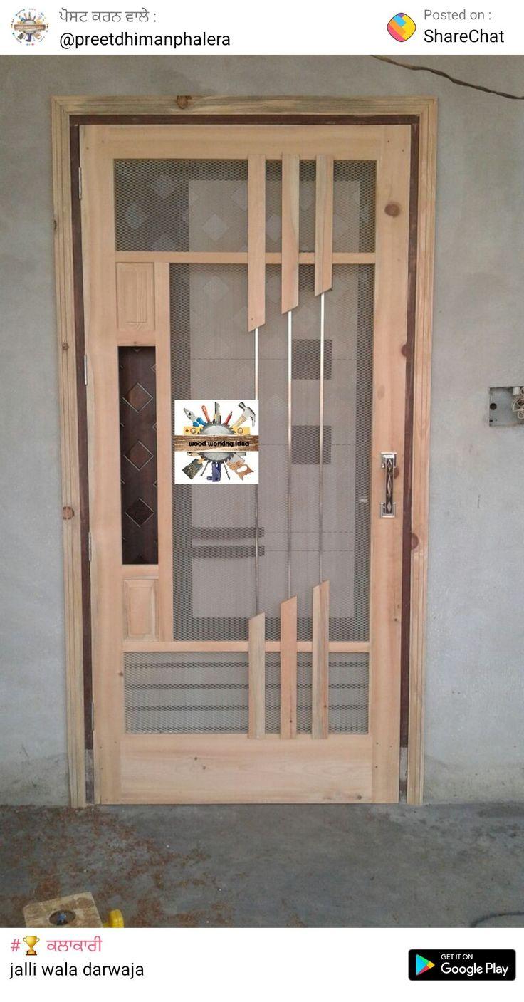 Pin by Samrab0o0 on Doors | Wooden door design, Room door ...