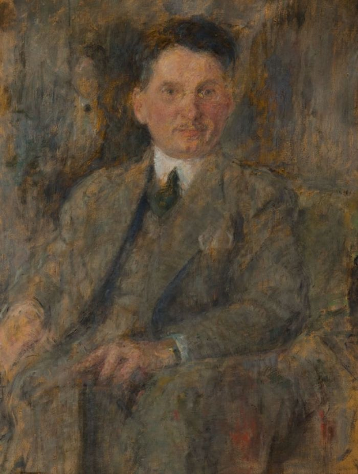 Olga Boznańska - Portret mężczyzny – Stanisław Burtan, po 1920 r.