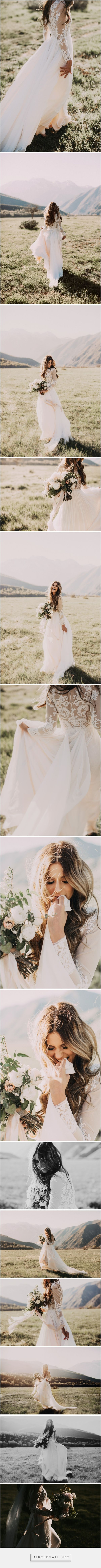 BEAUTIFULLY PERFECT BRIDAL PORTRAITS - UNPOSED!! LOVE THEM XX Gabby + Patrick : Mountain Bridals – India Earl Photography