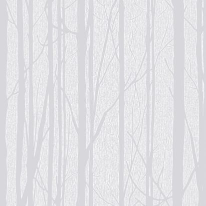 Trees Paintable Wallcovering In White With Textured Finish By Craig Rose 1829 Used For The Bedroom WallpaperWhite