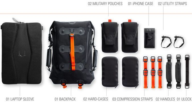 Modular Back pack By Ember Equipment - Magnetic Accessories | Gear ...