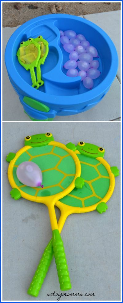Water Balloon Games for Kids -- fun idea for backyard summer games