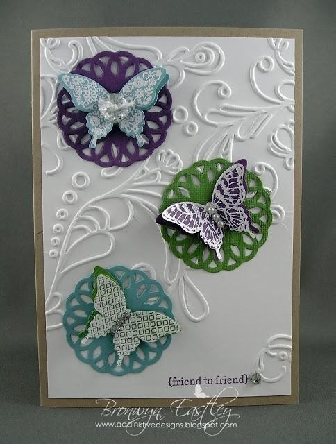 stampin up papillon potpourri   Stampin Up Only / Stamp Sets: Papillon Potpourri, Teeny Tiny ...