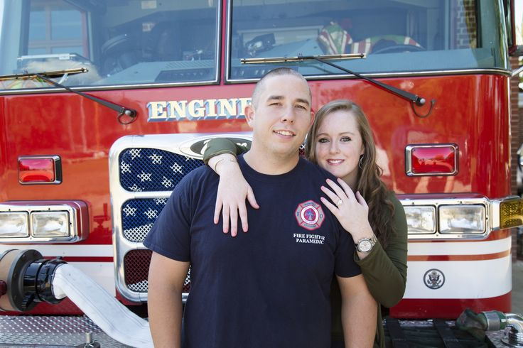 We love incorporating your personal stories into your engagement photos like Massey-Wening did for this firefighter and his bride-to-be! Click the image to learn more about these wedding photographers. Photo credit: Massey-Wening Photography