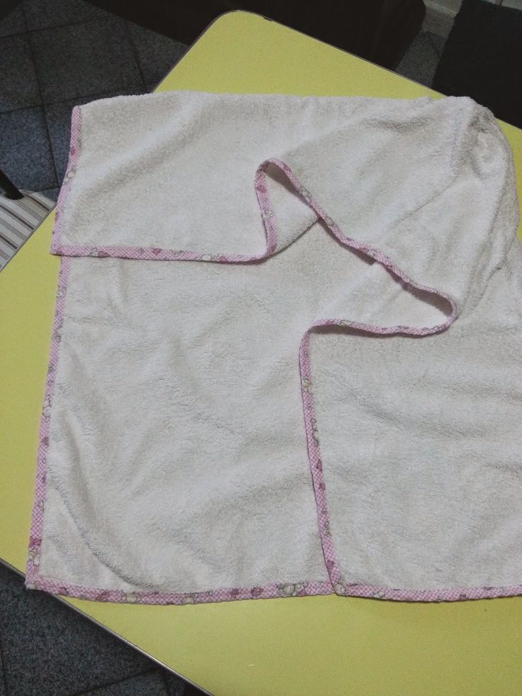 Luciana Crochet: RICICLO POCO CREATIVO MA UTILE, accappatoio bebè, ...