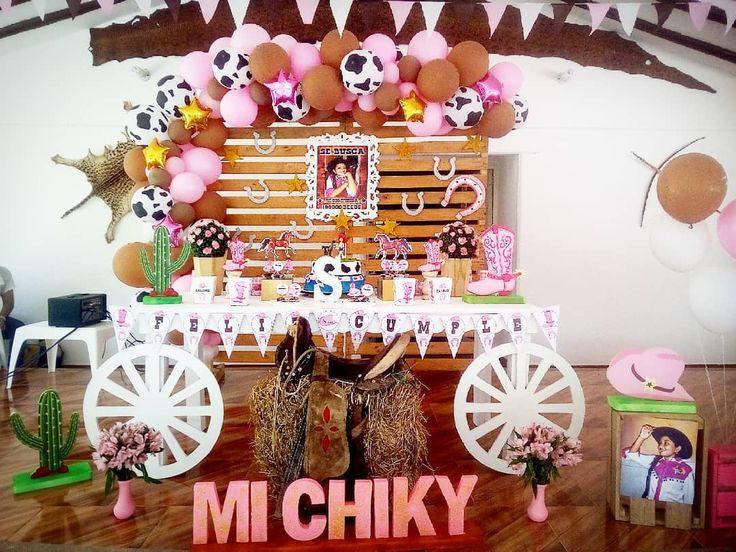 Un cumpleaños vaquera para niña, personajes para fiestas infantiles de niña, …
