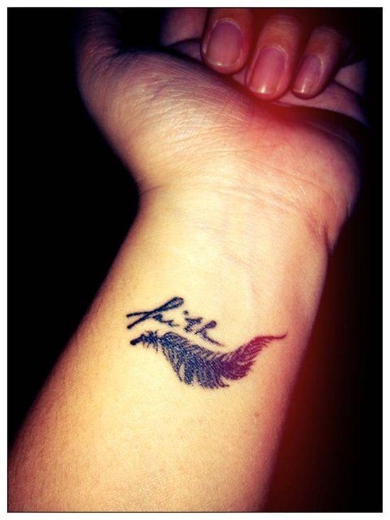 Faith Tattoo Designs For Men: The Cute Faith Tattoo Designs And Meaning For Men ~ tattooeve.com Tattoo Design Inspiration