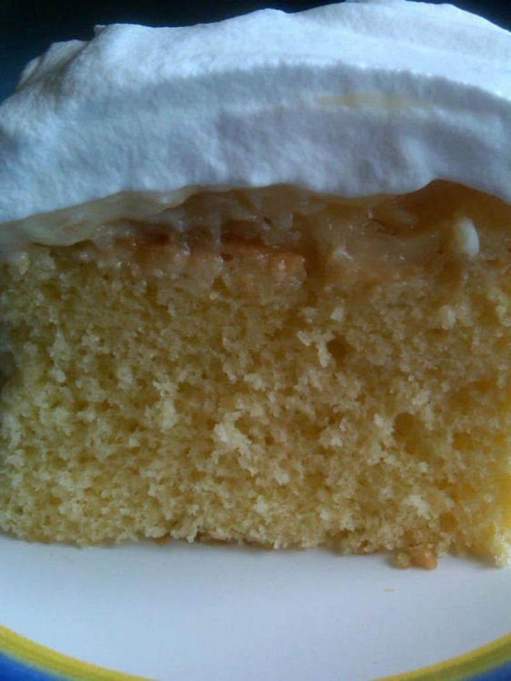 Pineapple Dream Cake AKA Daffodil Cake