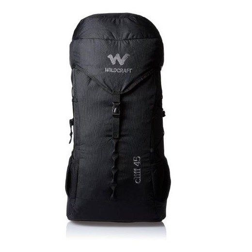 Wildcraft Cliff 45 New Black Backpack buy:http://bit.ly/2eCaZfa