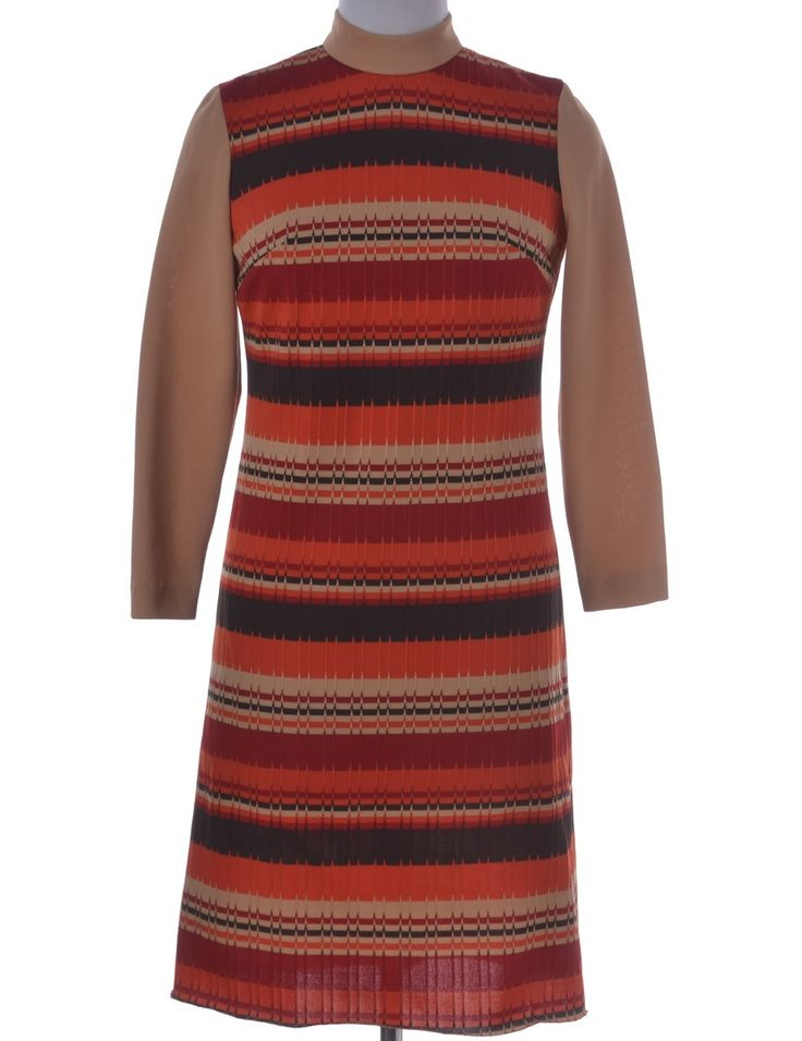 Vintage Vintage Day Dress Multi-colour | Beyond Retro