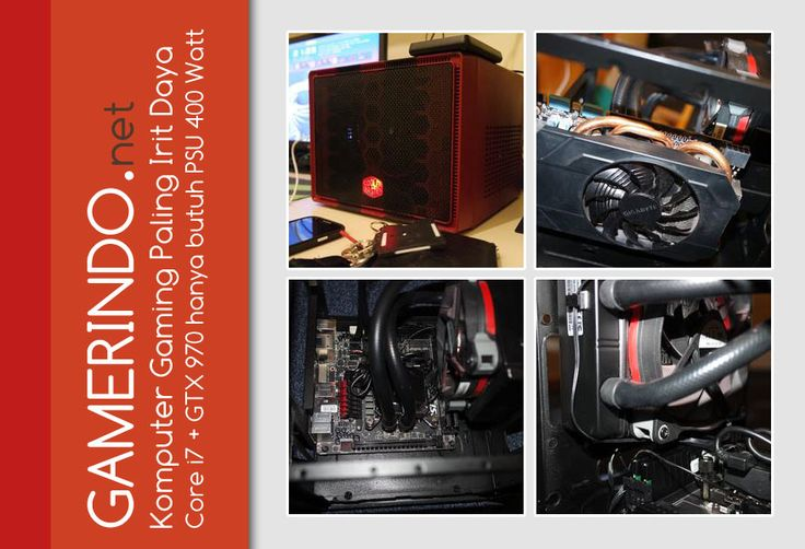 PC Gaming Core i7 GTX 970 Pakai PSU 400 Watt Wow