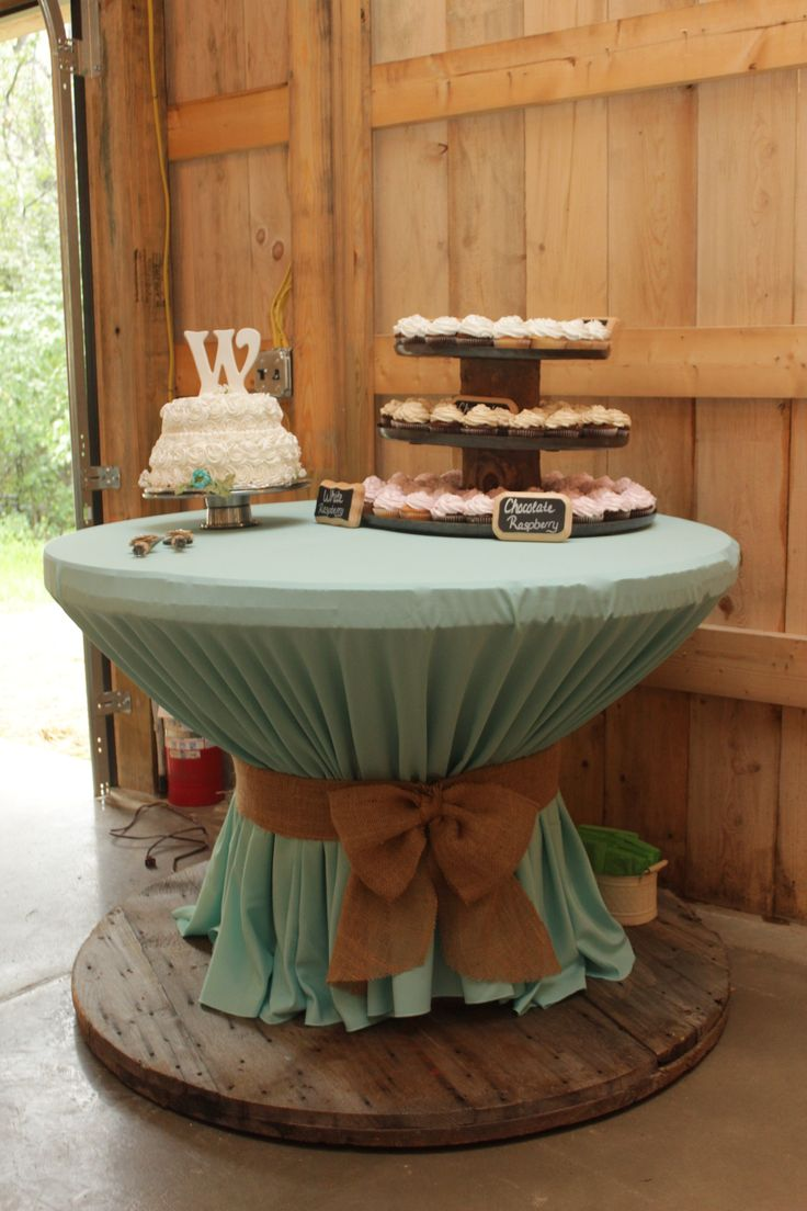 Homemade Cupcake Stand 3 Different Size Trays From