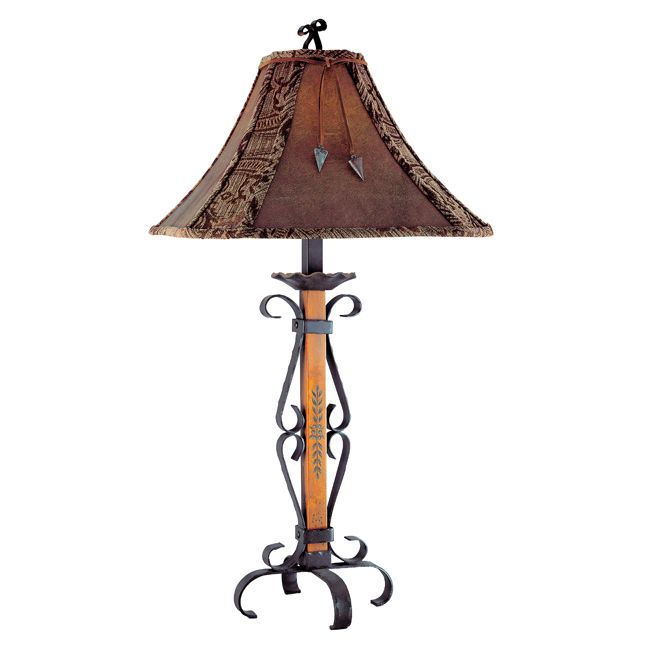 The 39 best rustic table lamps images on pinterest rustic table el paso table lamp aloadofball Images